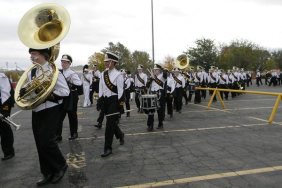 The West Pride Marching Band